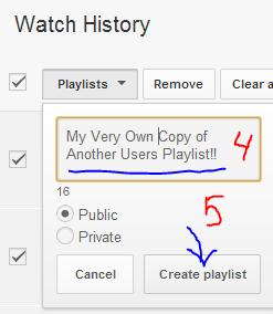 how to create new playlist on nexus 5